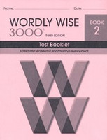 Wordly Wise 3000, 3d ed., Test Booklet, Book 2
