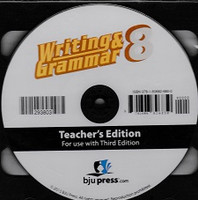 Writing & Grammar 8, e-Teacher's Edition, 3d ed.
