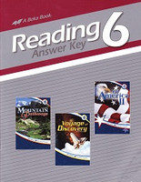 Reading 6, Answer Key