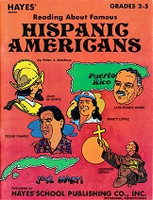Hayes Reading About Famous Hispanic Americans, Grades 2-5
