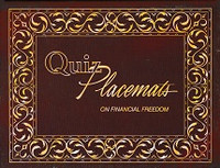 Quiz Placemats on Financial Freedom
