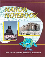 """Nation Notebook with """"Do-It-Yourself Research Handbook"""""""