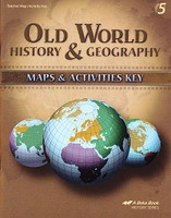 Old World History & Geography 5, Map-Activity Key