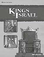 Bible 9: Kings of Israel, Quiz-Test Key