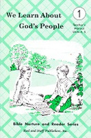 We Learn About God's People 1, Units 4,5; Teacher Manual