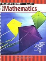 MCP Mathematics, Level D Teacher Edition