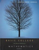 Basic College Mathematics, an Applied Approach, 6th ed. Set