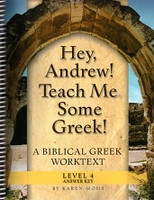 Hey, Andrew! Teach Me Some Greek! Level 4 Answer Key