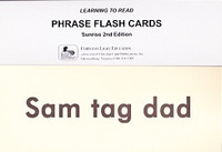 Phrase Flash Cards, Sunrise 2d Edition