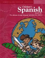 Power-Glide Children's Spanish Level III Workbook