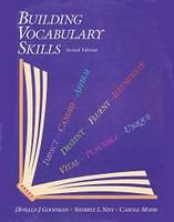 Building Vocabulary Skills, 2d ed.