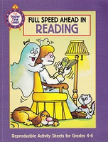 Full Speed Ahead in Reading, reproducibles, Grades 4-6