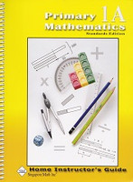 Singapore Primary Mathematics 1A, Home Instructor Guide