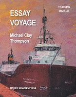 Essay Voyage, Teacher Manual