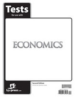 BJU Economics, 2d ed., tests