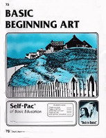 Basic Beginning Art Self-Pac PACEs 73-84 Set