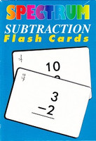Spectrum Subtraction Flash Cards