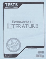 Explorations in Literature 7, 3d ed., Test Key