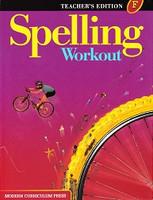 Spelling Workout F (6), Teacher Edition