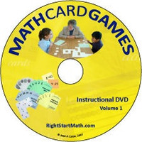 RightStart Math Card Games Instructional DVD