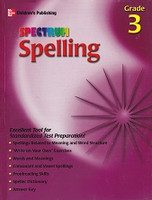 Spectrum Spelling, Grade 3, student