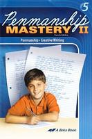 Penmanship Mastery II (5), 4th ed., student