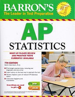 Barron's AP Statistics, 7th ed.