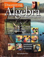 Discovering Algebra, student & Solutions Manual