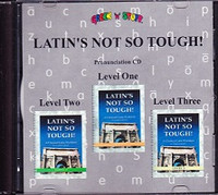 Latin's Not So Tough! Pronunciation CD, Levels 1-3