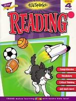 KidSparks Reading, Grade 4 Skillbook