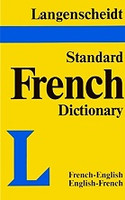 Langenscheidt Shorter French Dictionary, French English