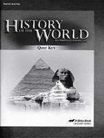 History of the World 7, 5th ed., Quiz Key