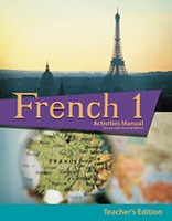 French 1, 2d ed., Activities Manual Teacher Edition