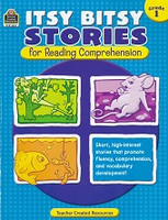 Itsy Bitsy Stories for Reading Comprehension, Grade 1