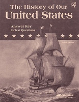 History of Our United States 4, 4th ed., Text Answer Key