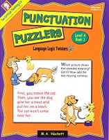 Punctuation Puzzler Level A, Book 1, Grades 3-4