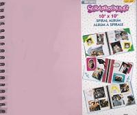 "Memories Forever Scrapbooking 10x10"" Spiral Album"
