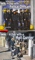 A Day with Police Officers, A Day with a Mail Carrier Set