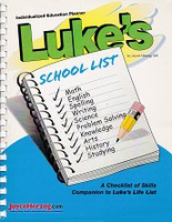 Luke's School List Individualized Education Planner