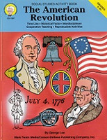 American Revolution Social Studies Activity Book
