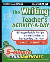 Writing Teacher's Activity-a-Day 5-minute FUNdamentals