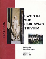 Latin in the Christian Trivium, Volume 1, XS Ed, 4 Books Set