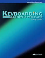 Keyboarding and Document Processing 10-12, Teacher-Solutions