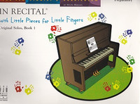 In Recital with Little Pieces for Little Fingers, Solos 1