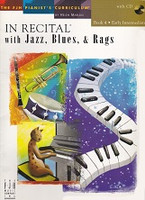 In Recital with Jazz, Blues, & Rags, Book 4