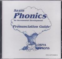 Saxon Phonics Pronunciation Guide CD