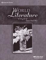 World Literature 10, 4th ed., Quiz-Test Key