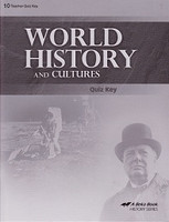 World History and Cultures 10, 3d ed., Quiz Key