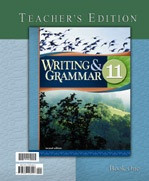 Writing & Grammar 11, 2d ed., 2 Volume Teacher Edition