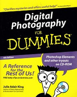 Digital Photography for Dummies, Reference for Rest of Us